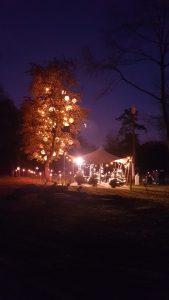 Het Luierpark 's avonds
